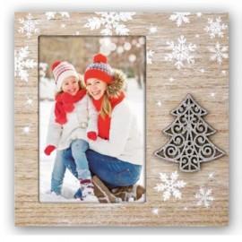 Cornice fotografica 10x15 Casper portafoto con albero di Natale