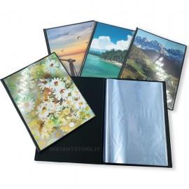 25 album fotografici a tasche 15x21 per foto 15x20 raccoglitore totale 900 foto