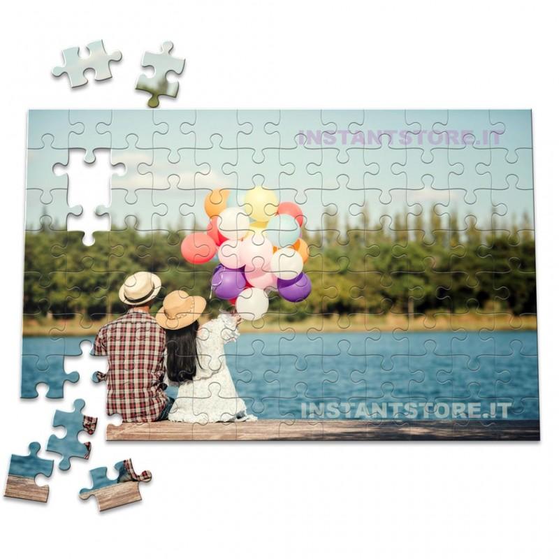 Puzzle personalizzato con foto formato A4 192 tasselli