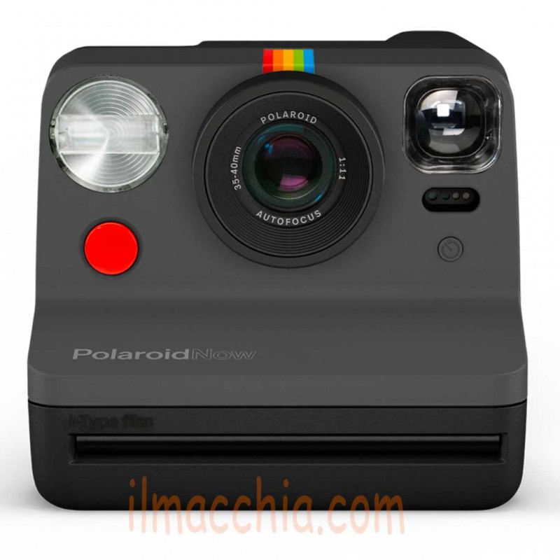 Fotocamera Istantanea Polaroid Now Black i-Type Instant camera