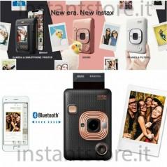 Fujifilm Instax Mini LiPlay fotocamera istantanea ibrida black