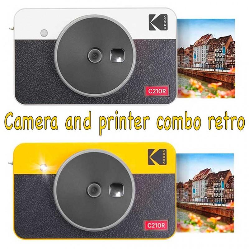 Kodak Mini Shot Combo 2 Retro instant camera ibrida Garanzia 4 anni Fowa