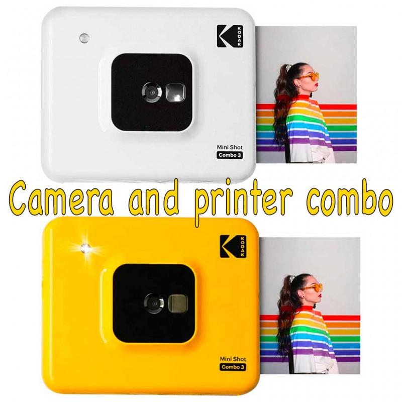 Kodak Mini Shot Combo 3 instant camera ibrida Garanzia 4 anni Fowa