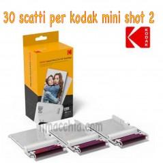 "Kodak carta per Mini Shot Combo 2 - 30 foto 2,1""x3,4"" ICRG-230"