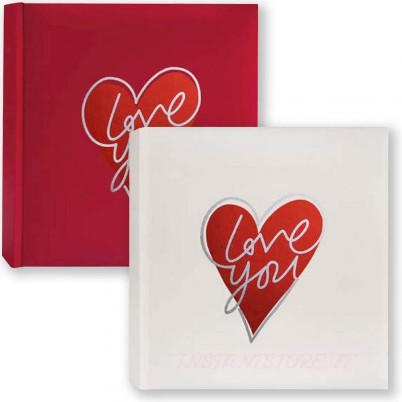 Album Fotografico Tradizionale portafoto 24x24 Love you