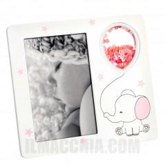 Cornice Fotografica 10x15 Mascagni Portafoto in in legno A1298 con elefantino