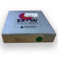B+W by Schneider filtro Verde 3X coated 62mm E