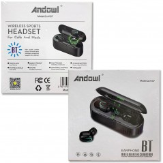 AURICOLARI BLUETOOTH CUFFIE WIRELESS SPORT ANDOWL-QA167