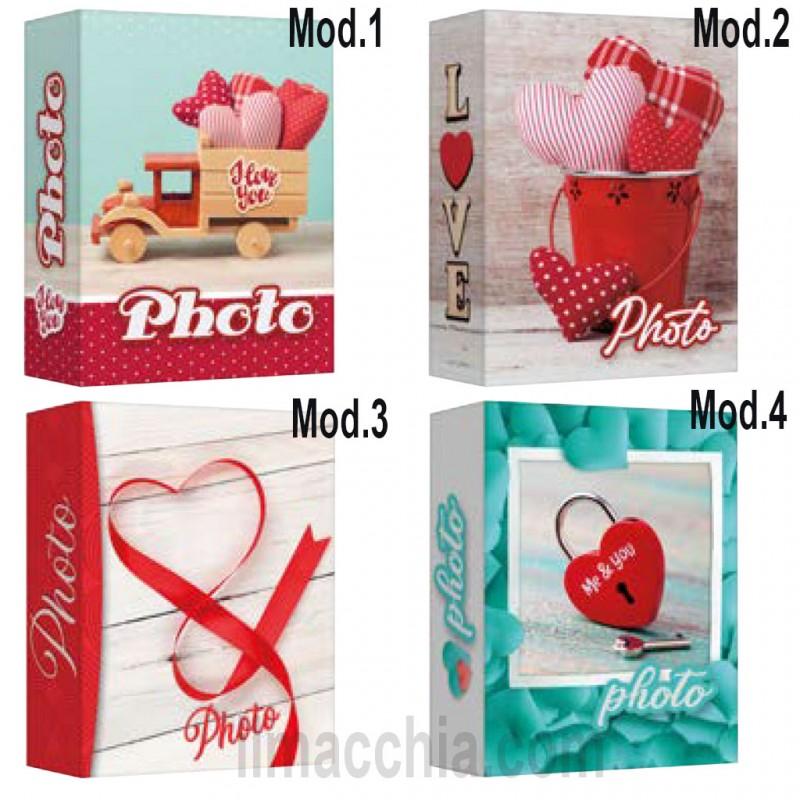 Album Fotografico a tasche 200 foto 10x15 portafoto San Valentino Lr46200