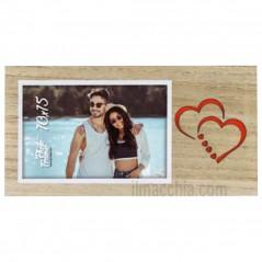 Cornice Fotografica San Valentino Portafoto 10x15 Laura H con cuori