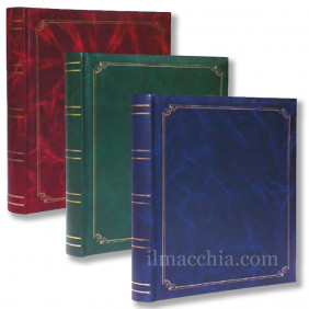 Bundle 3 Album Fotografici 50 fogli 100 pagine 29x31 portafoto album classico