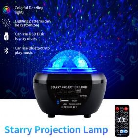 Proiettore Stelle Soffitto Lampada Altoparlante Bluetooth Mp3 luce stellare