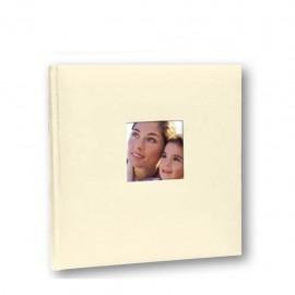Album Fotografico Tradizionale 30 fogli 31x31 Portafoto Cotton beige