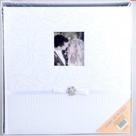 Album Fotografico Tradizionale Annabelle 50 fogli 32 x 32 Portafoto carta velina
