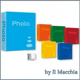 Album Fotografico Zep 10x15 11x16 200 foto portafoto Vari Colori