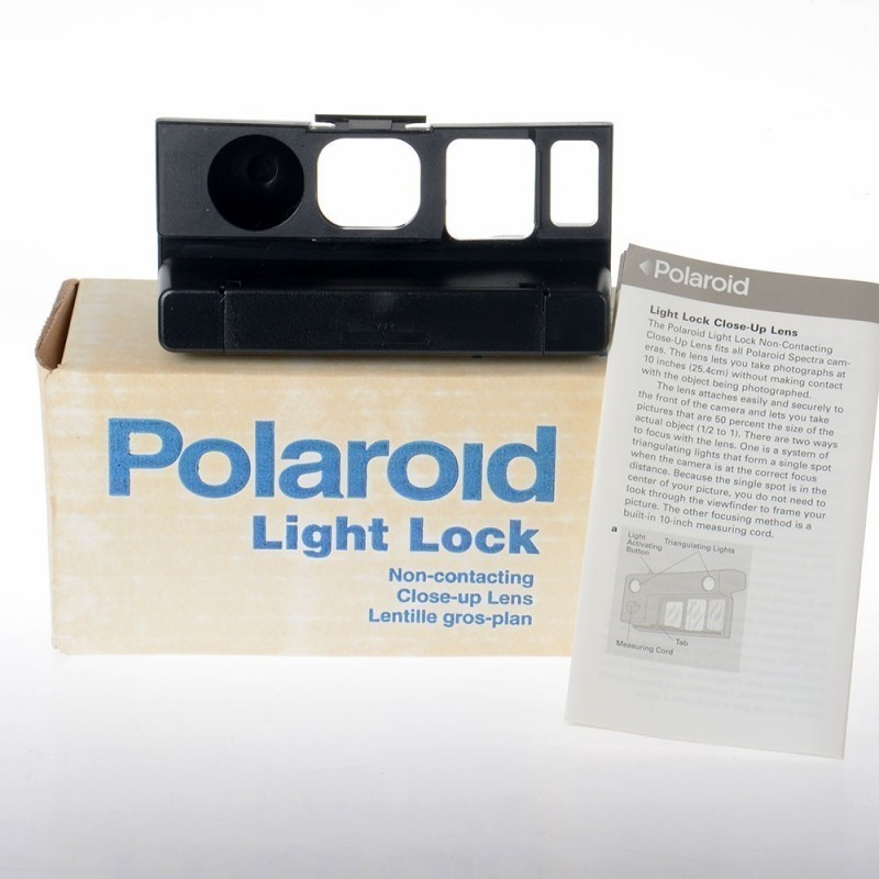 Polaroid Close Up Lens f-112 laser per foto ravvicinate Like new